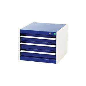 Bott CubioTool Storage Cabinets Cupboards Bott Benches & Perfopanel tool boards 40010009.11V Blue Doors RAL5010 40010009.19V Dark Grey Doors RAL7016 40010009.24V Red Doors RAL3004 40010009.16V Light Grey Doors RAL7035