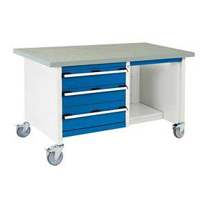 Bott CubioTool Storage Cabinets Cupboards Bott Benches & Perfopanel tool boards 41002117.11v Gentian Blue (RAL5010) 41002117.24v Crimson Red (RAL3004) 41002117.19v Dark Grey (RAL7016) 41002117.16v Light Grey (RAL7035)