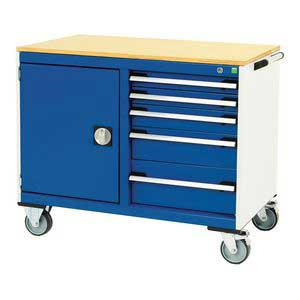 Bott CubioTool Storage Cabinets Cupboards Bott Benches & Perfopanel tool boards 41006007.11v Gentian Blue (RAL5010) 41006007.24v Crimson Red (RAL3004) 41006007.19v Dark Grey (RAL7016) 41006007.16v Light Grey (RAL7035)