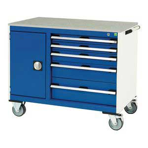 Bott CubioTool Storage Cabinets Cupboards Bott Benches & Perfopanel tool boards 41006014.11v Gentian Blue (RAL5010) 41006014.24v Crimson Red (RAL3004) 41006014.19v Dark Grey (RAL7016) 41006014.16v Light Grey (RAL7035)
