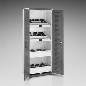 Bott CubioTool Storage Cabinets Cupboards Bott Benches & Perfopanel tool boards 40012059.11V Blue Doors RAL5010 40012059.19V Dark Grey Doors RAL7016 40012059.24V Red Doors RAL3004 40012059.16V Light Grey Doors RAL7035