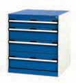 Bott CubioTool Storage Cabinets Cupboards Bott Benches & Perfopanel tool boards 40011062.11v Gentian Blue (RAL5010) 40011062.24v Crimson Red (RAL3004) 40011062.19v Dark Grey (RAL7016) 40011062.16v Light Grey (RAL7035)