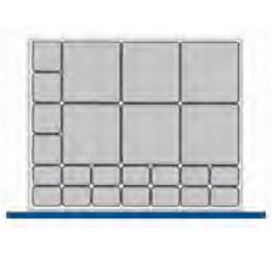 Bott CubioTool Storage Cabinets Cupboards Bott Benches & Perfopanel tool boards 43020166.** Standard