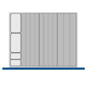 Bott CubioTool Storage Cabinets Cupboards Bott Benches & Perfopanel tool boards 43020009.**