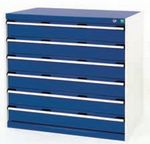 Bott Drawer Cabinets 1050 x 650 installed in your Engineering Department - bott 6 drawer cabinet unit 1050x650x1000.jpg