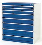 Bott Drawer Cabinets 1050 x 650 installed in your Engineering Department - bott cabinet cubio 8 drawers 1050x650x1200.jpg