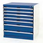 Bott100% extension Drawer units 800 x 650 for Labs and Test facilities - bott cubio 7 drawer cabinet 800x650x800.jpg